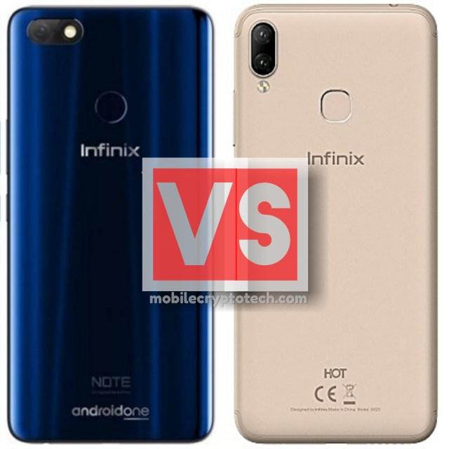 Infinix Note 5 Vs Hot 6X
