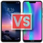 Xiaomi Redmi Note 6 Pro Vs Huawei Honor 8C