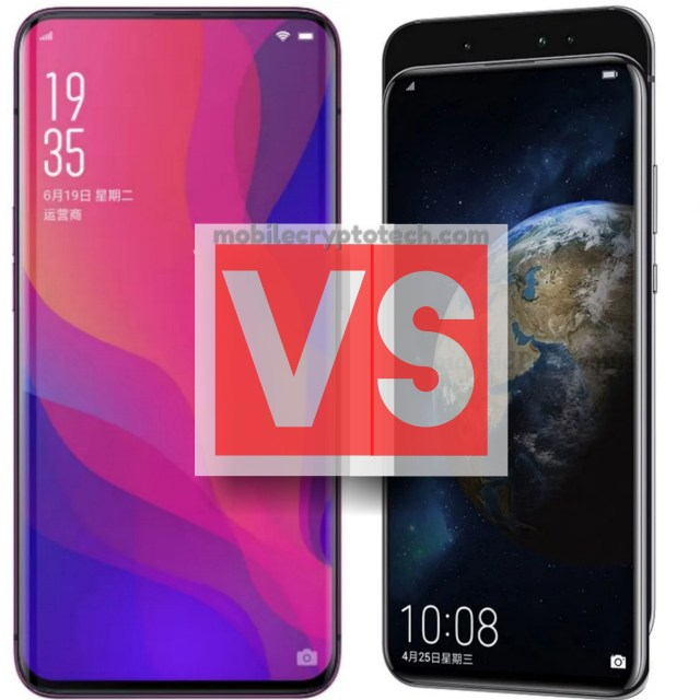 Oppo Find X Vs Huawei Honor Magic 2