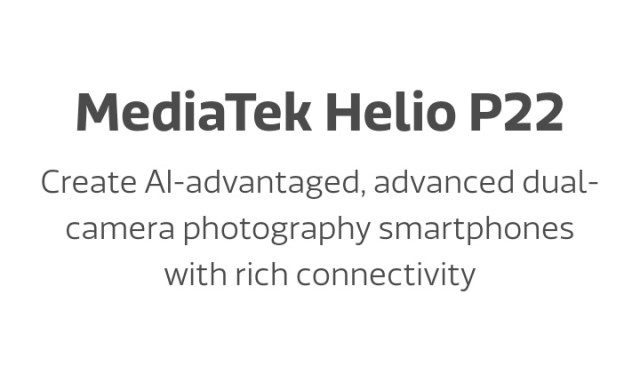 MediaTek Helio P22 MT6762