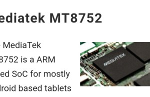 MediaTek MT8752