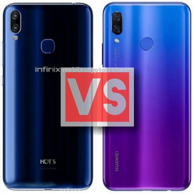 Infinix Hot S3X Vs Huawei Nova 3i