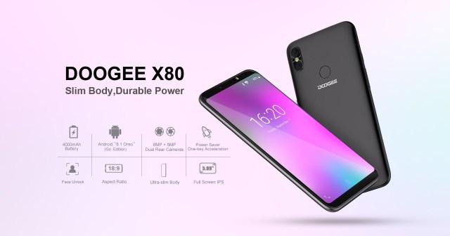 Doogee X80