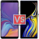 Samsung Galaxy A9 2018 Vs Note 9
