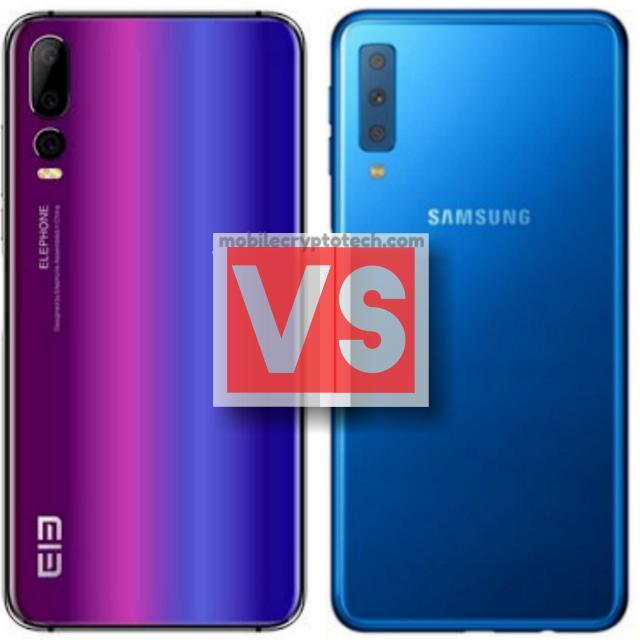 Elephone A5 Vs Samsung Galaxy A7 2018