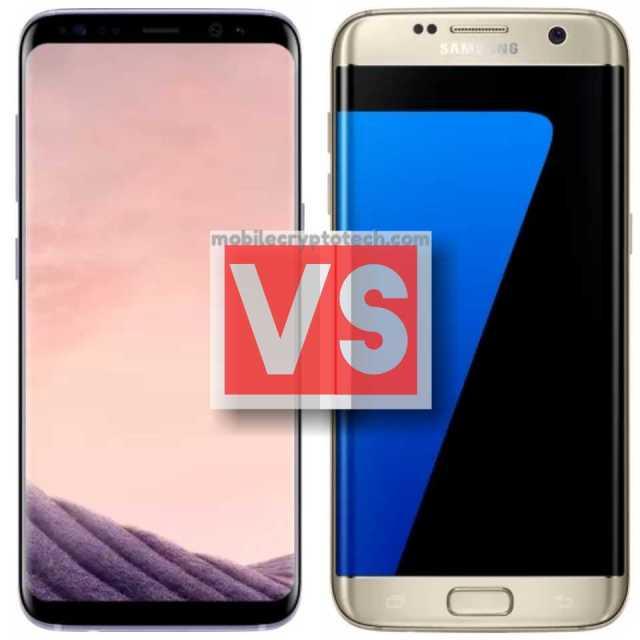 Samsung Galaxy S8 Vs S7 Edge