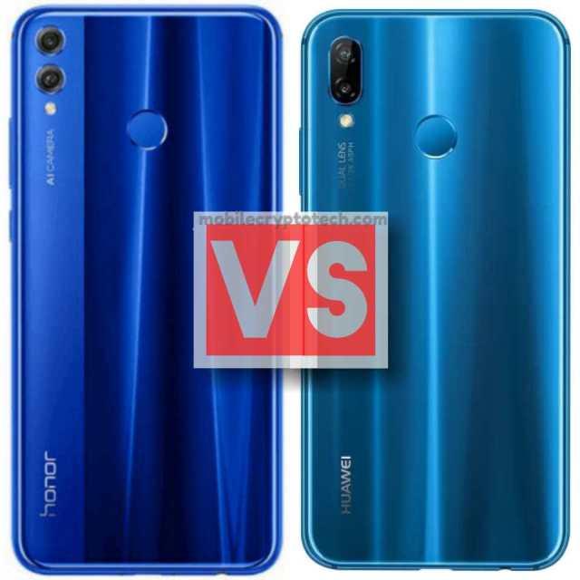 Huawei Honor 8X Vs P20 Lite