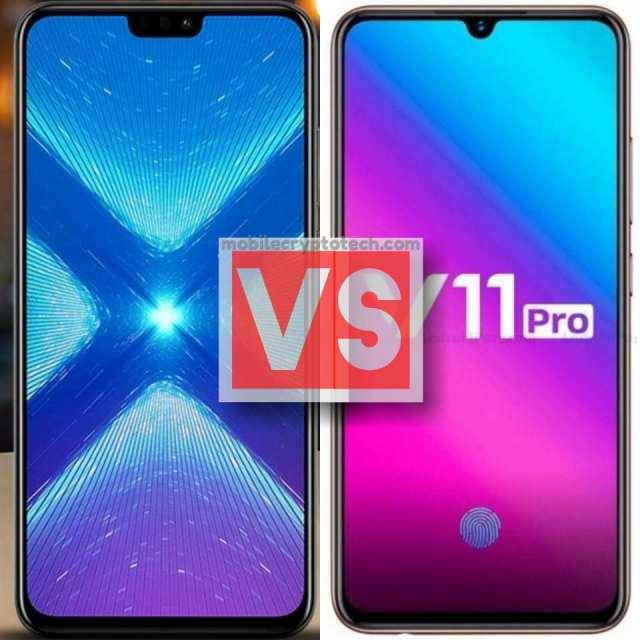Huawei Honor 8X Vs Vivo V11 Pro