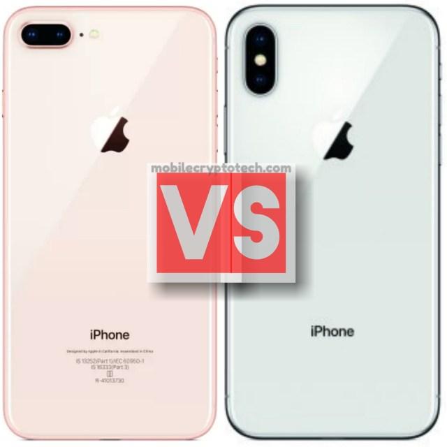 Apple iPhone 8 Plus Vs Apple iPhone X