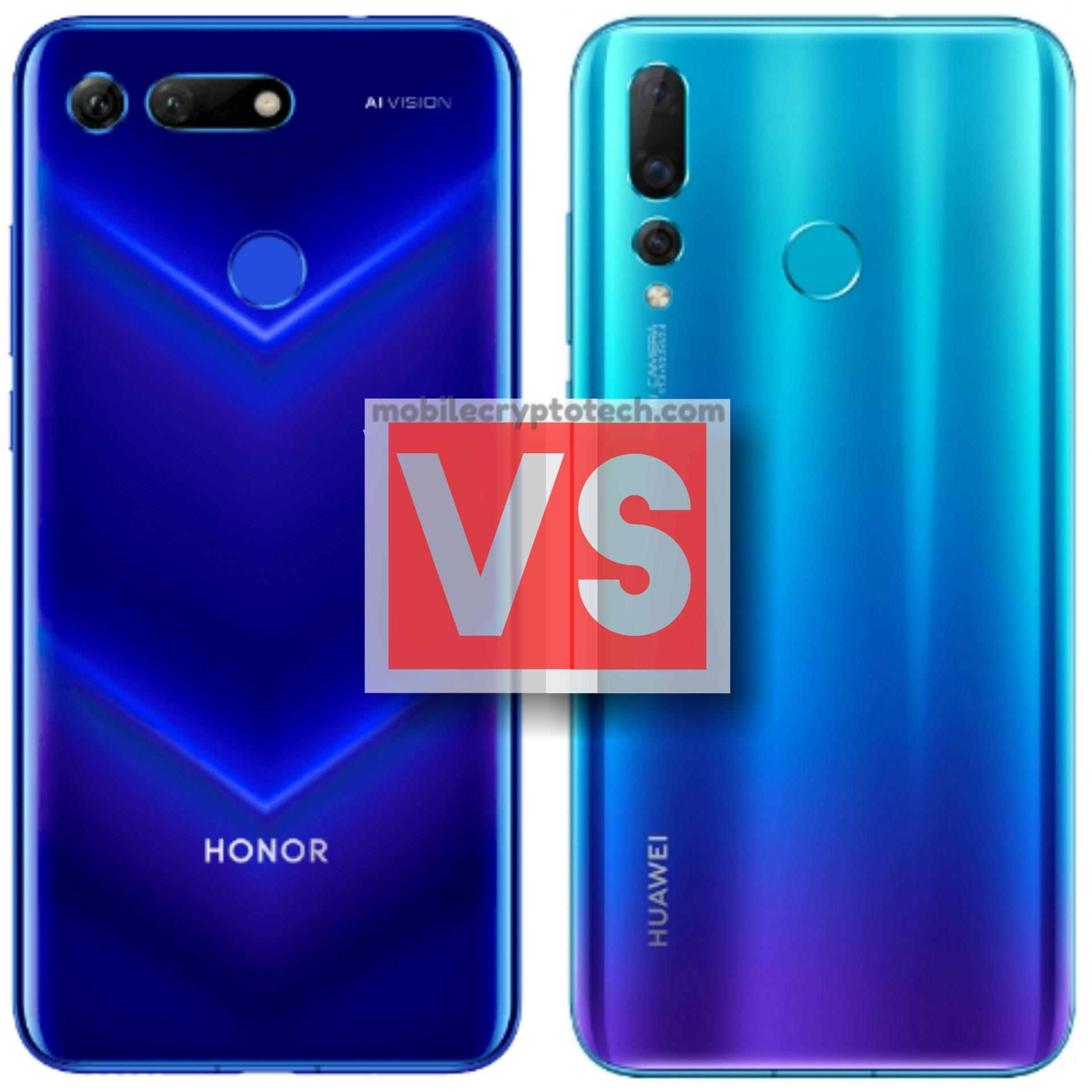 Huawei Honor View 20 Vs Nova 4