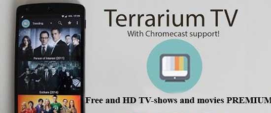 Terrarium TV Premium MOD APK Hack Cracked Account Download