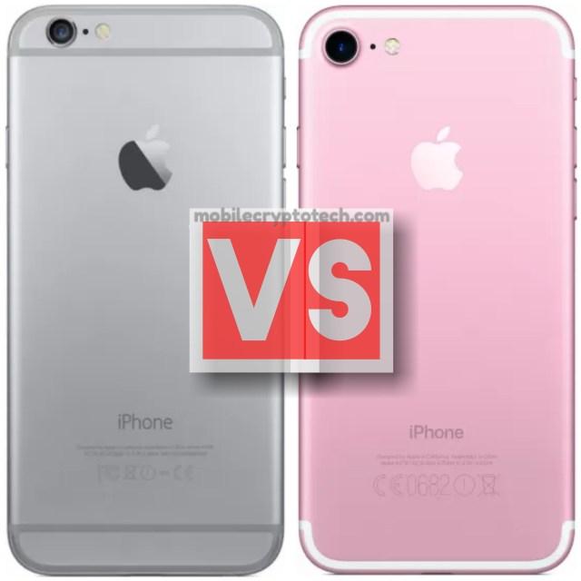 Apple iPhone 6 Plus Vs iPhone 7