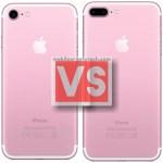 Apple iPhone 7 Vs 7 Plus