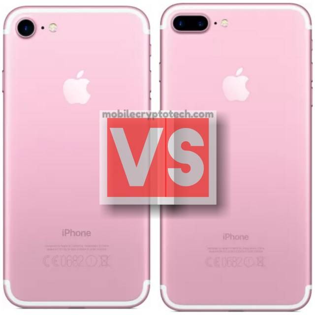Apple iPhone 7 Vs 7 Plus