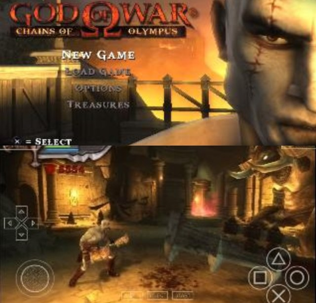 God of War - Chains of Olympus ISO PPSSPP