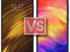 Xiaomi Pocophone F1 Vs Redmi Note 7