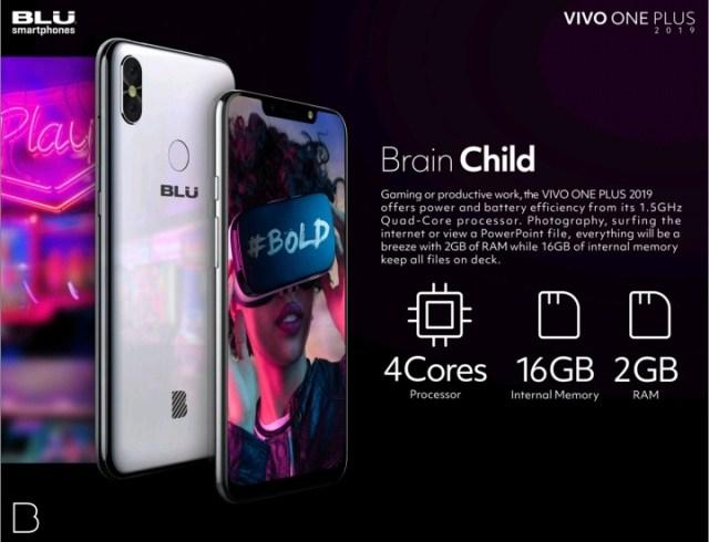 BLU Vivo One Plus 2019