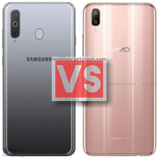 Samsung Galaxy A8s Vs Vivo V11 Pro