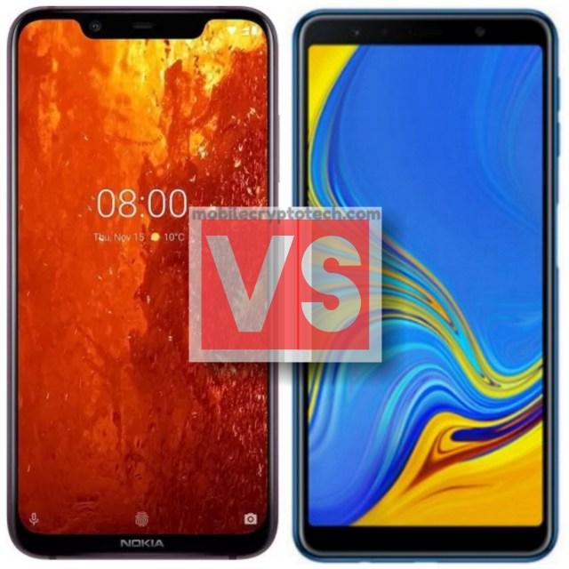 Nokia 8.1 Vs Samsung Galaxy A7 2018