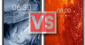 Nokia X6 Vs 8.1