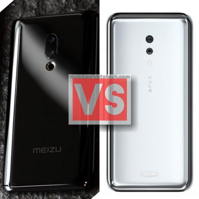 Meizu Zero Vs Vivo Apex 2019