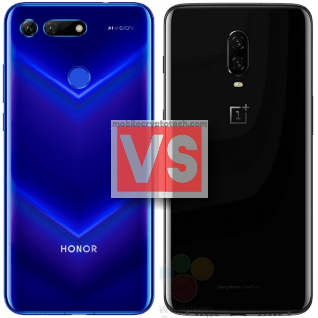 Huawei Honor View 20 Vs OnePlus 6T