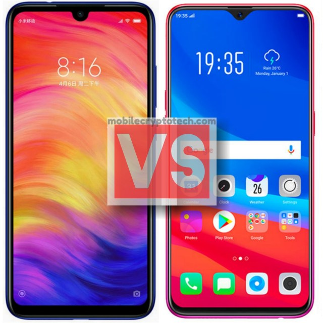 Xiaomi Redmi Note 7 Vs Oppo F9