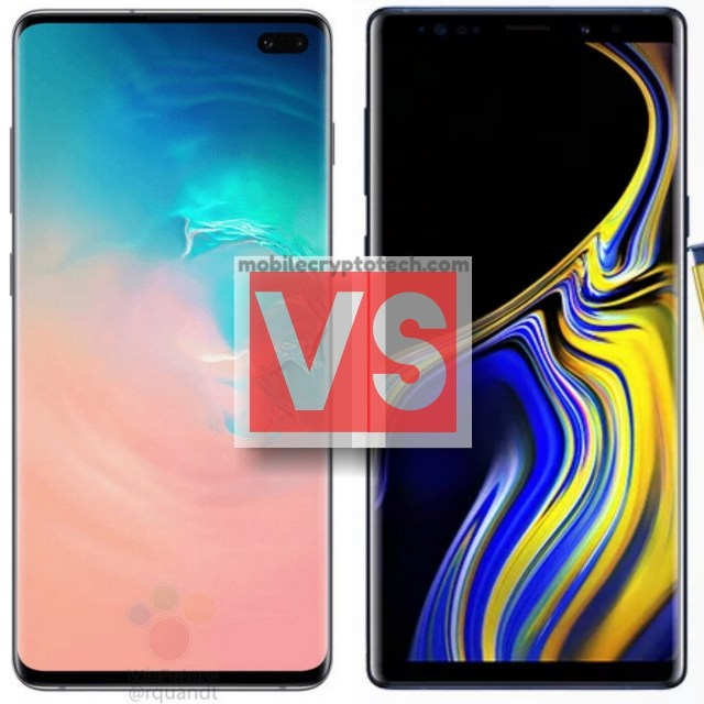 Samsung Galaxy S10 Plus Vs Note 9