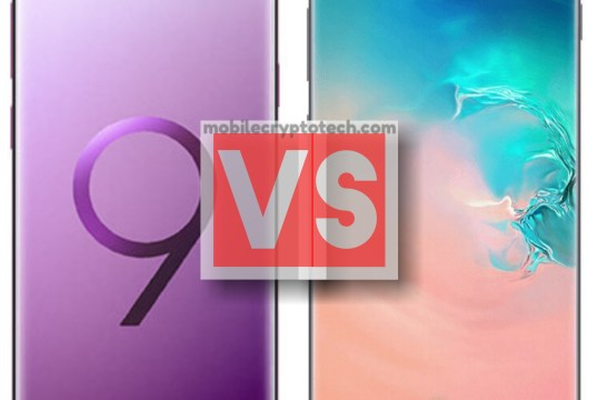 Samsung Galaxy S9 Plus Vs S10 Plus