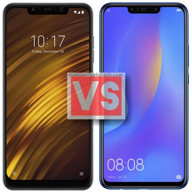 Xiaomi Pocophone F1 Vs Huawei Nova 3i