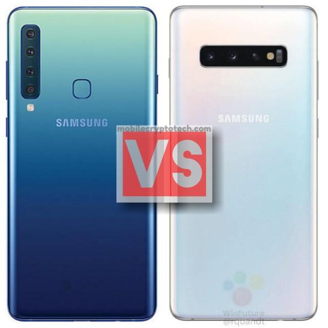 Samsung Galaxy A9 2018 Vs S10 Plus
