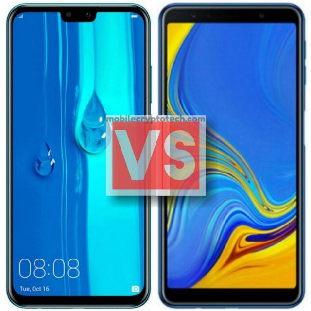 Huawei Y9 2019 Vs Samsung Galaxy A7 2018