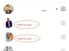 can't send direct messages on Instagram