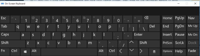 how to take screenshot of PC screen