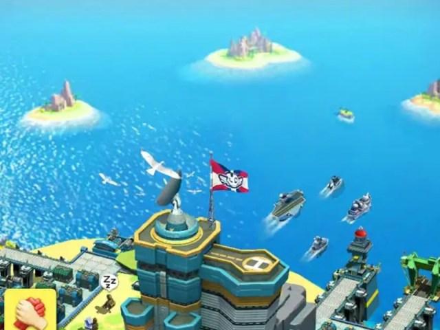 Sea Game: Mega Carrier MOD APK
