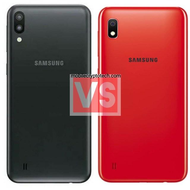 Samsung Galaxy M10 Vs A10