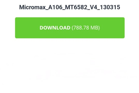 Micromax A106 flash file