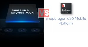 Samsung Exynos 7904 Vs Qualcomm Snapdragon 636