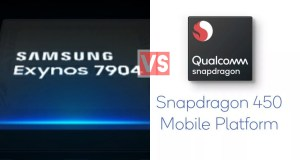 Samsung Exynos 7904 Vs Qualcomm Snapdragon 450
