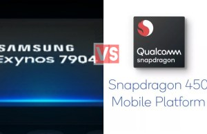 Samsung Exynos 7904 Vs Qualcomm Snapdragon 450