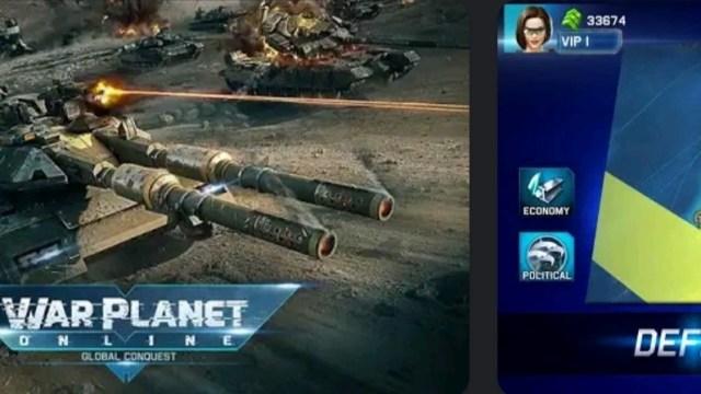 War Planet Online MOD APK