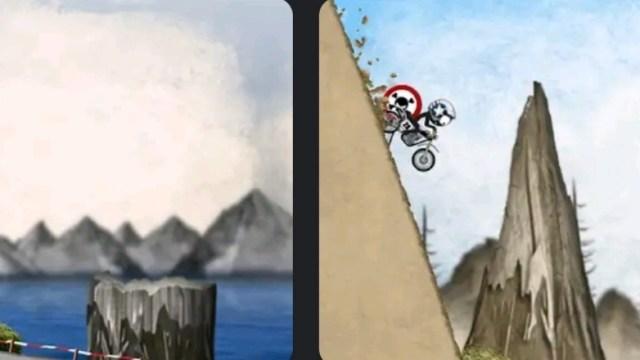 Stickman Downhill Motocross MOD APK