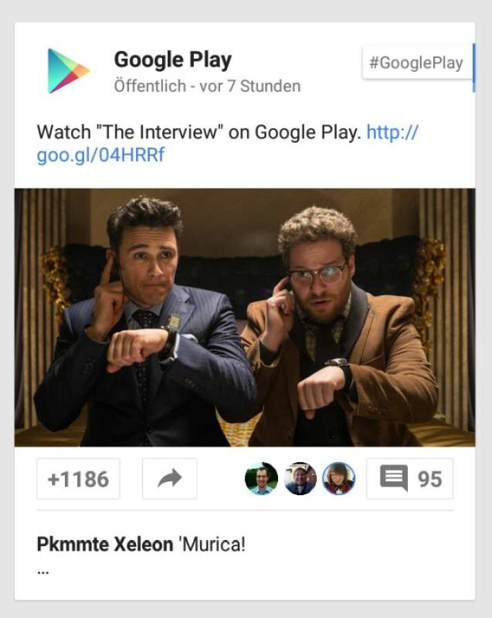 the interview google play
