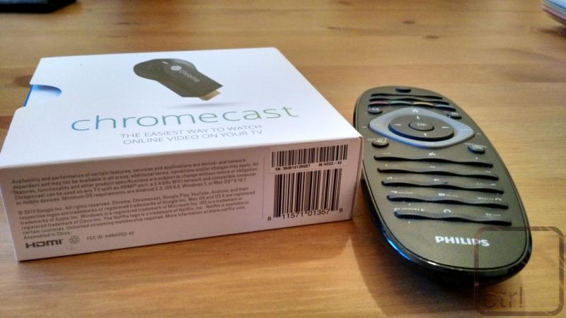 Chromecast mit der TV-Fernbedienung steuern: ja, das geht