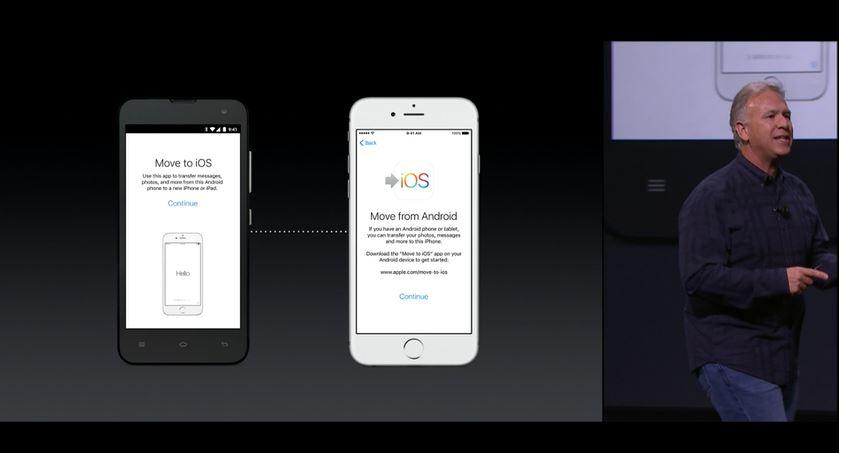 apple iphone migrate app