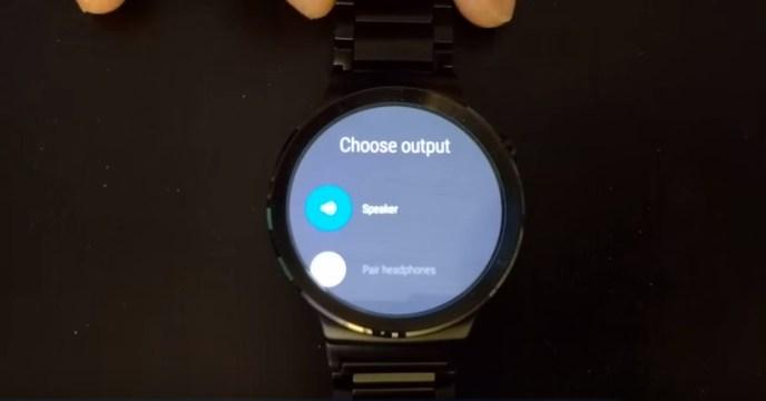 huawei watch android wear 1.4 lautsprecher speaker (2)
