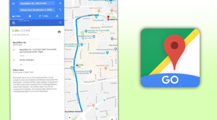 Google Maps Go landet im Play Store - ist offenbar nur eine Web-App on
