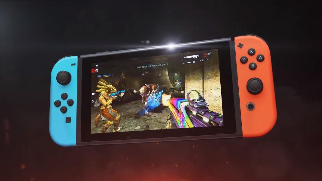 Ähnlich wie Destiny: Shadowgun Legends kommt für die Nintendo Switch