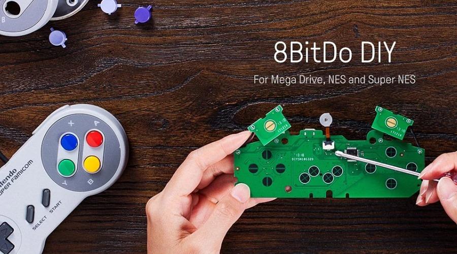 DIY: 8Bitdo zeigt Set um SNES-Controller kabellos zu machen