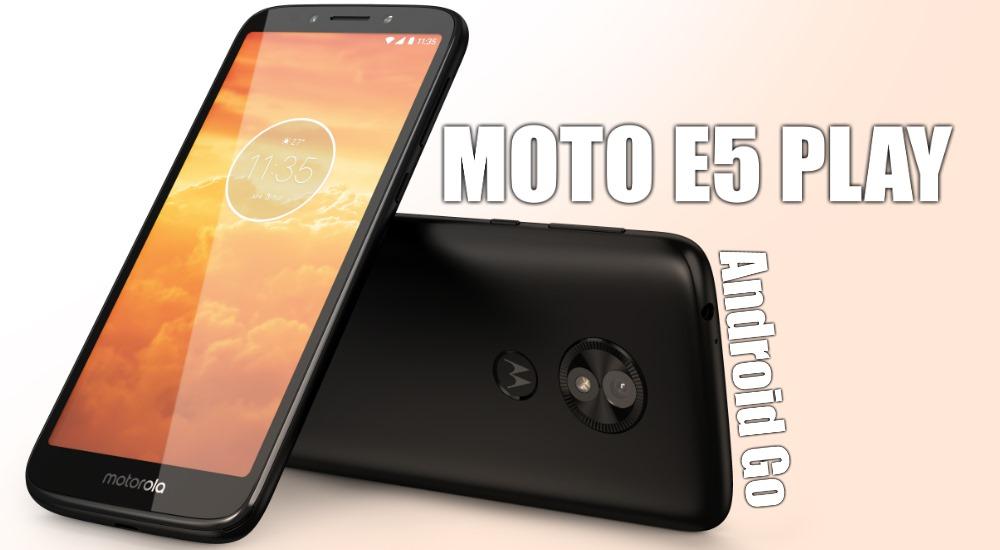 Moto E5 Play Go: Android Go Smartphone für knapp 110€